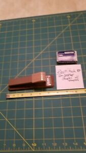 "Vintage Bostich #88 Small Desk Stapler 5.5"" long with sm Box Staples"