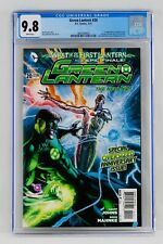 Green Lantern #20 CGC 9.8 White Pages First Jessica Cruz Appearance 1st App Key