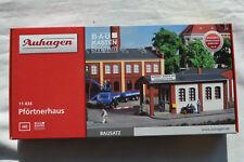Pförtnerhaus Auhagen 11434 Spur H0 Modellbau 1:87 Bausatz Pförtner Haus NEU
