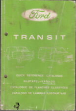 Ford Transit Parts quick reference catalogue