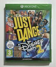 🍀JUST DANCE DISNEY PARTY 2 Italiano XBOX ONE NUOVO SIGILLATO!🍀
