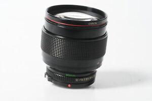 Canon FD 85mm F1.2 L Lens [Parts/Repair] #086