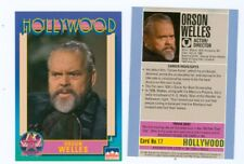 20 of the same Orson Welles Hollywood Walk of Fame card Citizen Kane 17 starline