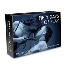Cincuenta días de juego 50 tonos Kinky Adultos Novedad Erótica Sexy Juego de tablero regalo nuevo