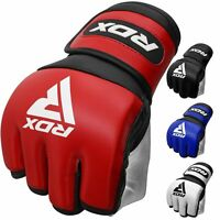 RDX MMA Gloves Grappling Training Martial Arts Cage Fighting Muay Thai Sparring