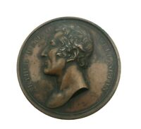 Arthur Duke of Wellington Governor of Plymouth Left Facing 1819 Bronze Medal