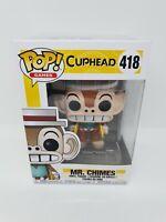 Mr Chimes Funko Pop Vinyl Figure Cuphead Games #418 rare