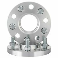 2pc Hubcentric Wheel Spacers Adapters | 5x114.3 | 12X1.25 | 66.1 CB | 15mm Thick