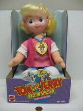 1993 Tom And Jerry The Movie Mattel Plush & Vinyl Robyn Starling Doll #1513