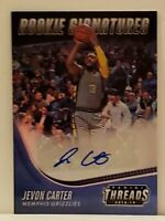 Jevon Carter 2018-19 Panini Threads Rookie Signatures #38 RC Autographed