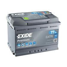 Batterie Exide Premium Ea770 12v 77ah 760a Fa770