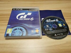 Gran Turismo 6 For Sony PlayStation 3 PS3 Complete - See Offer!