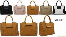 Wholesale Joblot donna women's Handbags MIX COLORI BORSE 6pcs