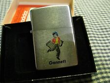 VINTAGE ZIPPO GANNETT NEWSPAPER CO LIGHTER 1978