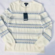 Lands'End Women's Fair Isle 100% Cashmere Sweater Size Small NWT MSRP $169