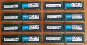 Crucial Micron SERVER RAM module 16Gb DDR4 2400 RDIMM 1.2v ECC CL17 Dual Rank