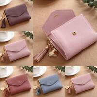 Women Lady Short Small Wallet Leather Folding Coin Card Holder Money Purse HOT