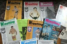 1970s - 80s Wrestling Archive Programs Magazines from my sister's collection!!