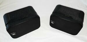 JBL Control 1C Pair of Monitor Speaker Black.