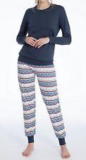 CALIDA Pyjama Weihnachten 36-38 Star White 45130