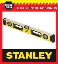 STANLEY 43-524 FATMAX BOX 2ft / 600mm 3-VIAL SPIRIT LEVEL