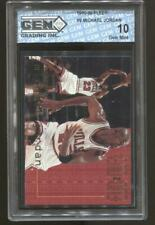 1995-96 Michael Jordan Fleer End 2 End #9 Gem Mint 10 Chicago Bulls