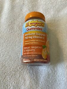 Emergen-C Vitamin C Immune Support 750mg 45 Gummies Orange Tangerine Raspberry