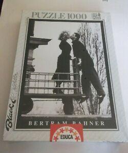 Bertram Bahner 1000 Pc Educa Black & White Series Kissing Balcony Puzzle Sealed