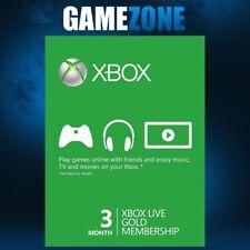 Xbox Live 3 meses Gold membresía para Microsoft Xbox One/Xbox 360-en todo el mundo