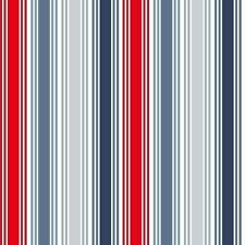 Marina Nautical Fabric Deckchair Sea Stripe 100 Cotton Patchwork Makower FQ