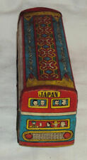 TOKYO PUBLIC BUS TINPLATE TOY VINTAGE FRICTION POWERED 1960