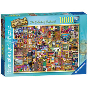 Ravensburger Jigsaw Puzzle 19827 Curious Cupboards No6 The Collectors 1000 Piece