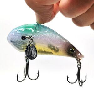 Rat Lipless Crankbait Fishing Lure Rattling VIB Bass Bait Trout Rattle Lures 18G
