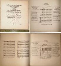 Vivaldi, 4 saisons, Partition  complète pour 4 violons et basse