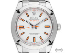 Rolex Oyster Perpetual Milgauss Stahl Automatik Armband Oyster 40mm