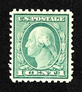 US stamps SC# 542  1 cent green, perf 10 x 11, MNH