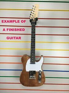Tele Electric guitar kit guitar unfinished unassembled unbranded telecaster DEAL