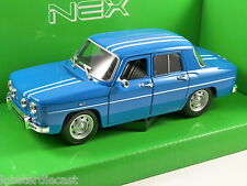 RENAULT 8 GORDINI in Blue 1/24 scale model by WELLY