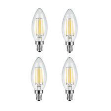 LED Candelabra Bulb 45W, 4W 2700K Warm White E12 Base - Free Shipping