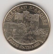 A 2012 TOKEN MEDAILLE SOUVENIR MDP -- 11 190 N°2 CHÂTEAU D'ARQUES PAYS CATHARE