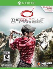NEW Golf Club: Collector's Edition (Microsoft Xbox One, 2015)