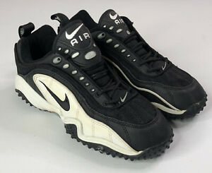 VTG Nike Air Astro Grabber Sneaker Size Mens 9 US Rare Sample Black Lace Up Shoe