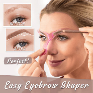 EYEBROW STENCIL | Glamza Makeup Eyebrow Shaper Reusable Template Contour Tool