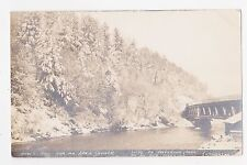 RPPC,Curwensville,Pennsylvania,Scene Along Anderson Creek,Used,Curwensville,1911