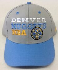 the best attitude 326ff 4b0c8 NBA Denver Nuggets Adidas Adjustable Back Cap Hat Beanie Style  NR79Z NEW!