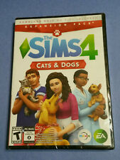 NEW - Sims 4: Cats & Dogs (Windows / Mac, 2017) Free Shipping!!