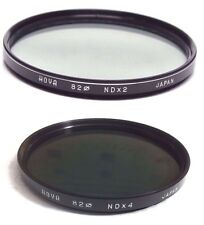 Hoya 82mm ND2 ND4 NDX2 NDX4 nd-2 nd-4 Filtro objetivo DENSIDAD NEUTRA Japón 82