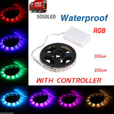 Wasserdicht LED Stripe Batterie Lichterband Lichterkette Leucht Streifen Leiste