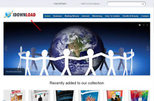 Digital Store eBooks, Website - Free hosting + Installation
