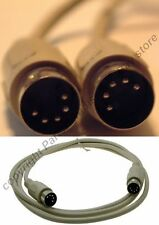Lot2 6ft MIDI Male~M Patch Cable/Cord 5pin DIN Digital Audio,drum,synthesizer